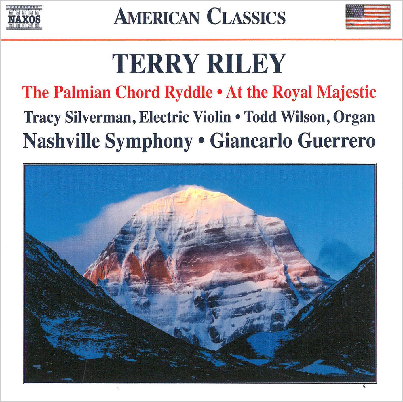 Nashville SO; Giancarlo Guerrero - Terry Riley: The Palmian Chord Ryddle; At the Royal Majestic (2017)
