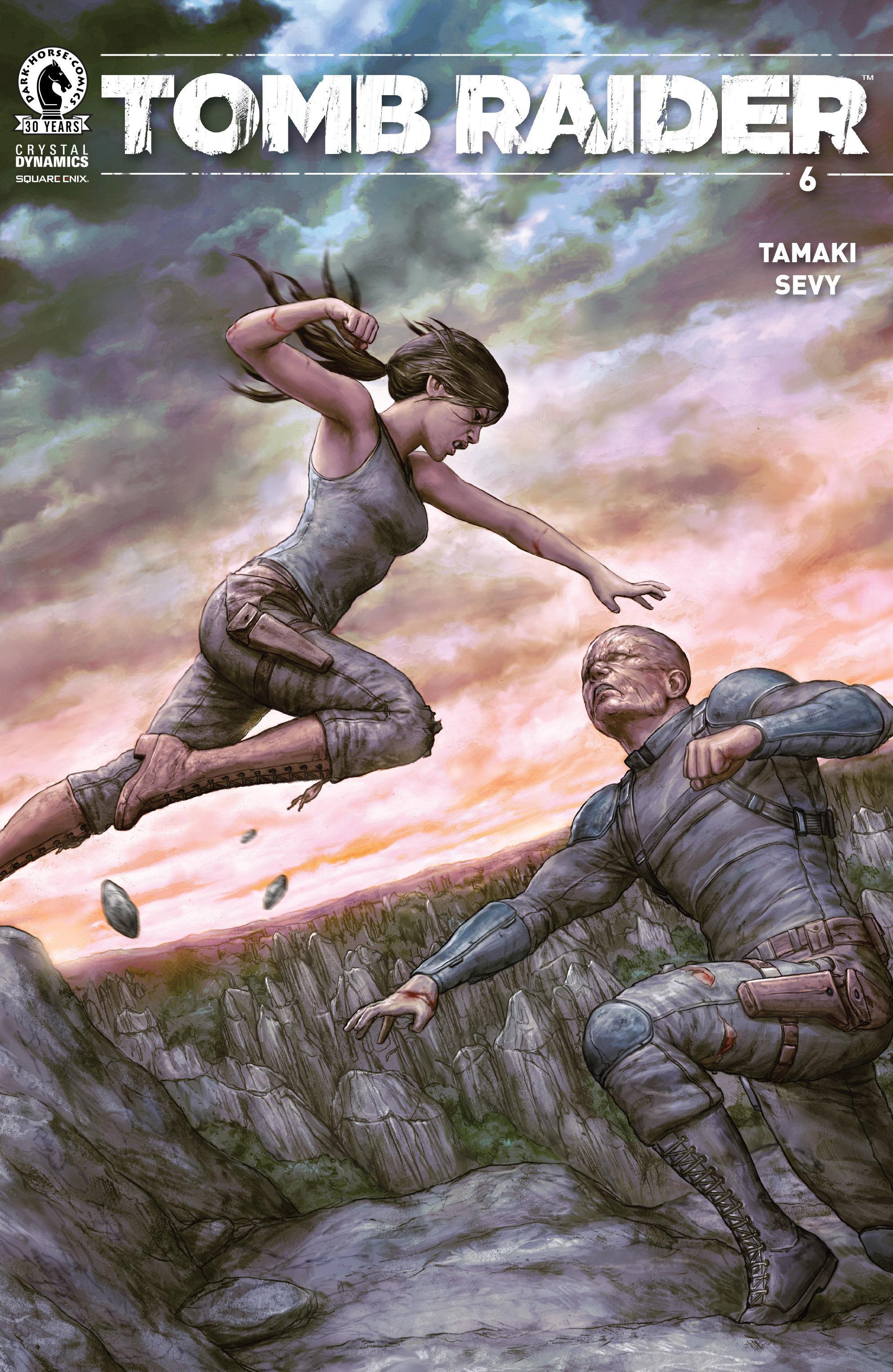 Tomb Raider 006 2016 digital The Magicians
