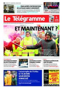 Le Télégramme Brest Abers Iroise – 11 décembre 2019