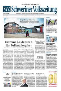 Schweriner Volkszeitung Hagenower Kreisblatt - 02. März 2019