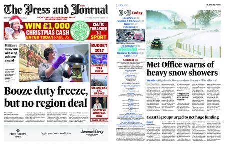 The Press and Journal Moray – November 23, 2017