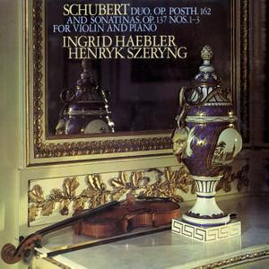 Henryk Szeryng & Ingrid Haebler - Schubert: 3 Sonatinas; Violin Sonata in A Major (Remastered) (2018) [24/96]