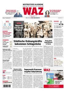 WAZ Westdeutsche Allgemeine Zeitung Oberhausen-Sterkrade - 29. September 2017