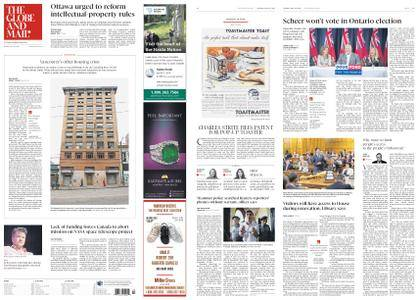 The Globe and Mail – May 29, 2018