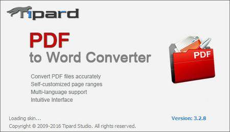 Tipard PDF to Word Converter 3.3.18 Multilingual