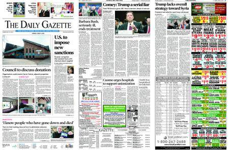 The Daily Gazette – April 16, 2018