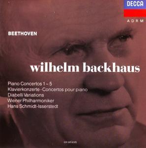 Wilhem Backhaus - Beethoven: Piano Concertos 1-5, Diabelli Variations (1992)