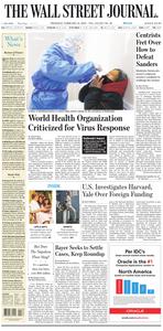 The Wall Street Journal – 13 February 2020