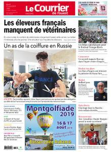 Le Courrier de l'Ouest Angers – 13 août 2019