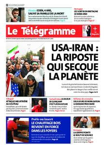 Le Télégramme Guingamp – 04 janvier 2020