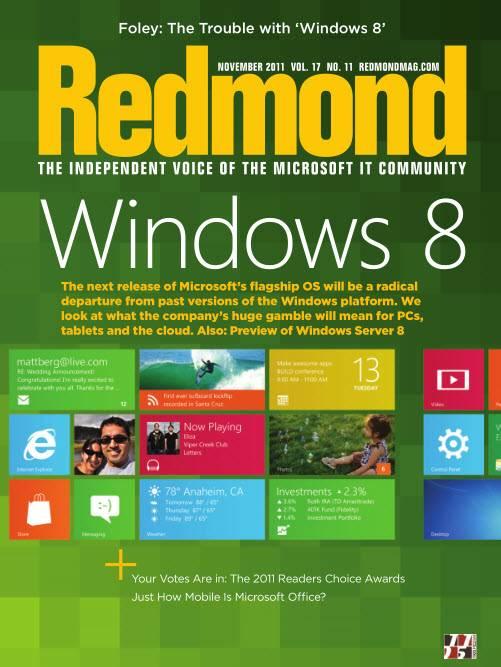 Redmond Magazine - November 2011