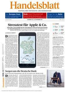 Handelsblatt - 29. September 2016