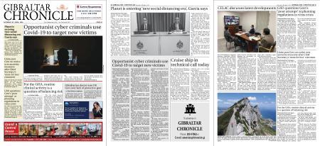 Gibraltar Chronicle – 25 April 2020