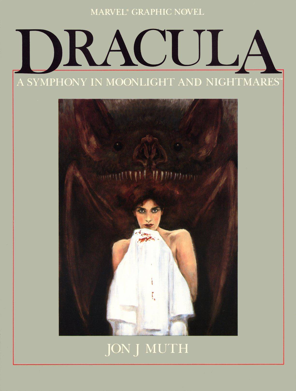 Marvel Graphic Novel 26 - Dracula - A Symphony in Moonlight and Nightmares 1986