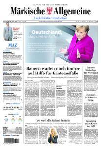 Märkische Allgemeine Luckenwalder Rundschau - 22. März 2018