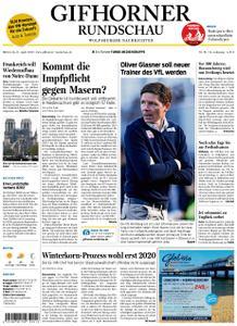 Gifhorner Rundschau - Wolfsburger Nachrichten - 17. April 2019