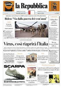 la Repubblica - 15 Aprile 2021