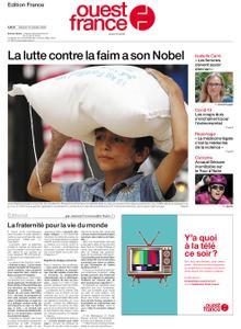 Ouest-France Édition France – 10 octobre 2020