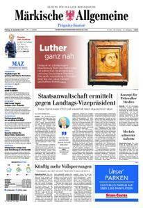 Märkische Allgemeine Prignitz Kurier - 08. September 2017