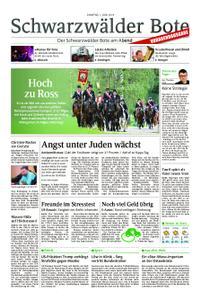 Schwarzwälder Bote Hechingen - 01. Juni 2019