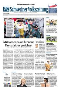 Schweriner Volkszeitung Hagenower Kreisblatt - 17. August 2019