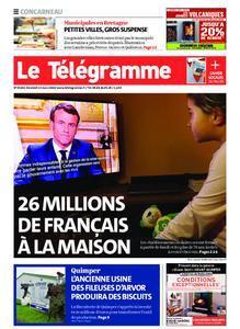 Le Télégramme Concarneau – 13 mars 2020