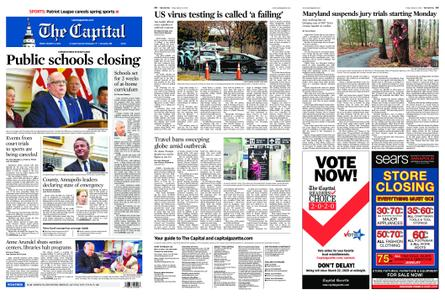 The Capital – March 13, 2020