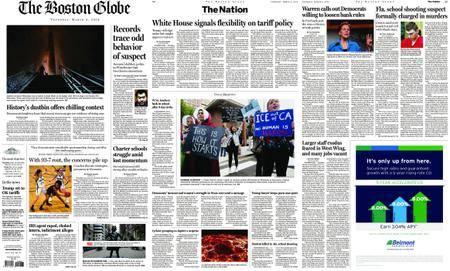 The Boston Globe – March 08, 2018