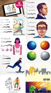 CreativeMarket - Coloring box 3702288