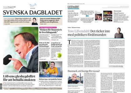 Svenska Dagbladet – 19 augusti 2019