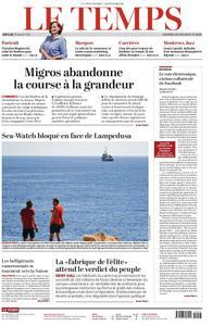 Le Temps - 28 juin 2019