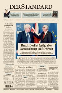 Der Standard – 18. Oktober 2019