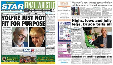 Shropshire Star Shrewsbury Edition – August 19, 2019