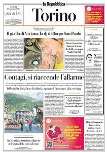 la Repubblica Torino - 10 Agosto 2020