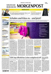 Solinger Morgenpost – 16. März 2020
