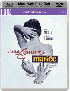A Married Woman / Une femme mariée (1964) [EUREKA! / MoC (Masters of Cinema)]