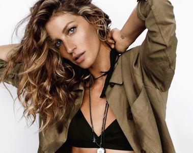 Gisele Bundchen by Mario Testino for Vogue UK March 2015