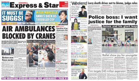 Express and Star Sandwell Edition – February 17, 2018