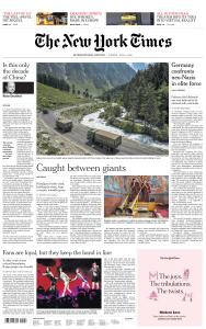 International New York Times - 14 July 2020