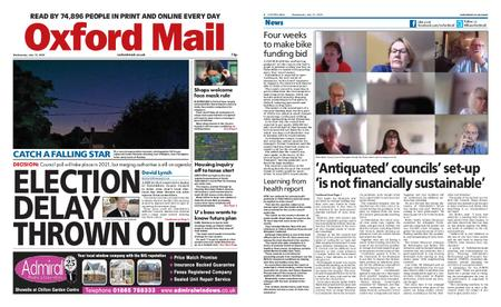 Oxford Mail – July 15, 2020