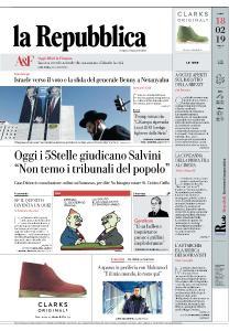 la Repubblica - 18 Febbraio 2019