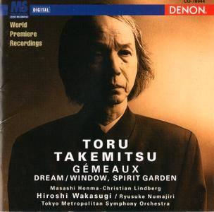Tokyo Metropolitan SO, Hiroshi Wakasugi - Toru Takemitsu, Orchestral Works II: Gemeaux; Dream/Window; Spirit Garden (1995)