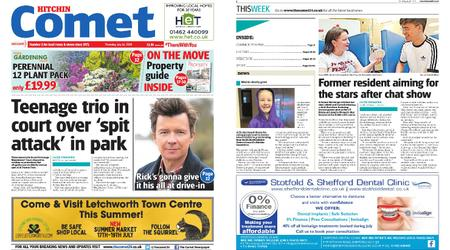 The Comet Hitchin – July 16, 2020