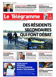 Le Télégramme Auray – 19 mars 2020