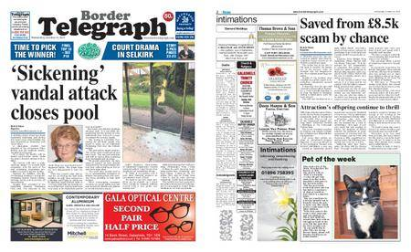 Border Telegraph – October 11, 2017