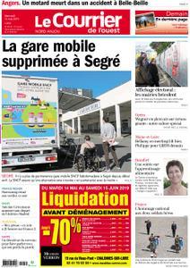 Le Courrier de l'Ouest Nord Anjou – 15 mai 2019