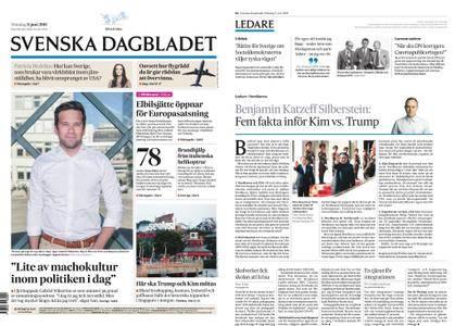 Svenska Dagbladet – 11 juni 2018