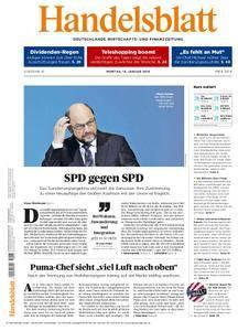 Handelsblatt - 15. Januar 2018