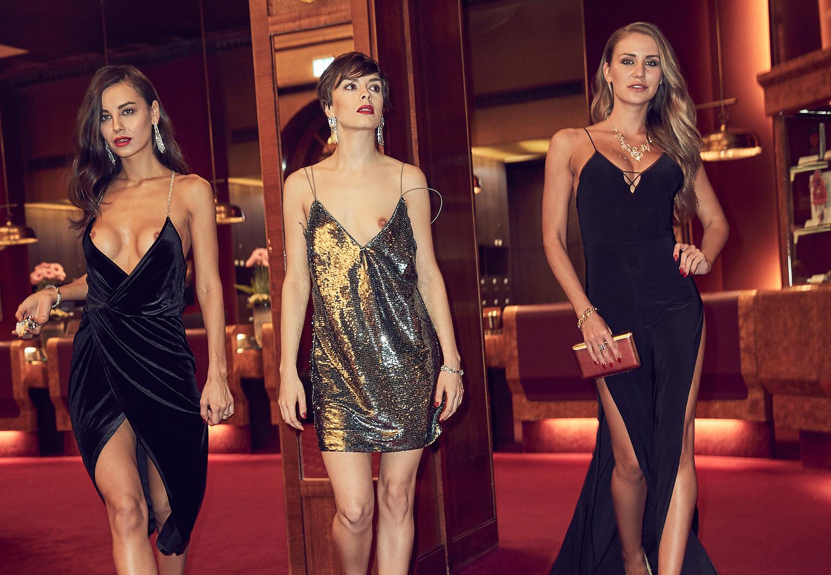 Veronika Klimovits, Julia Prokopy & Olivia Peltzer - Playmate des Jahres Top 3 2019 (part 3)