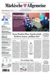 Märkische Allgemeine Dosse Kurier - 01. November 2017